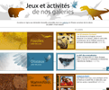 Jeux et activités: fossiles, oiseaux et mammifères